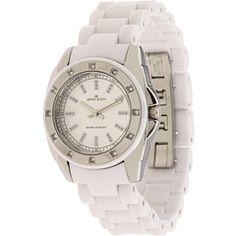 White Anne Klein Watch $55 on Zappos