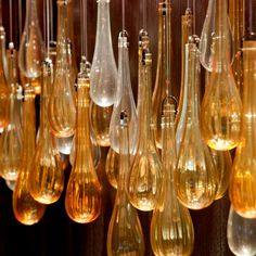 Hotel Schweizerhof #Bern, #Switzerland teardrop glass #lighting #art #design