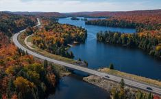 Ontario driving routes by Ontario Parks Blog Ontario Parks, Dame Nature, Algonquin Park, Parcs, Travel Tips, Hiking, Colours, River, Outdoor
