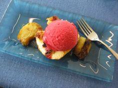 Lunch in restaurant Henricus, InnoOmnia, Espoo: dessert!