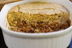 Pumpkin Maple Baked Bean Cornbread Casserole — Oh She Glows