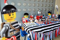 {LEGO City Police Birthday} | CatchMyParty.com
