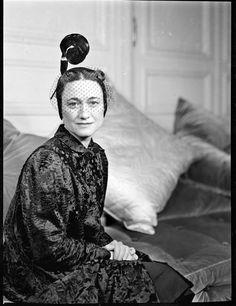 François Kollar - The Duchess of Windsor in Paris, 1938.