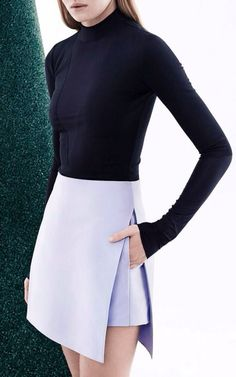 Paper Silk Skirt by Dion Lee