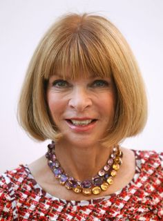 Recreating Georgian Jewelry: Anna Wintour: The Patron Saint of Collet Necklaces