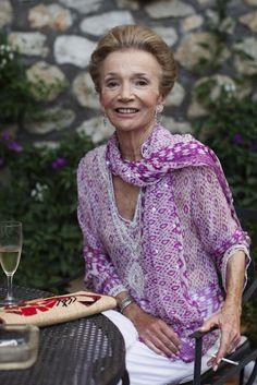The beautiful Lee Radziwill  - stylish sister of Jacqueline Kennedy Onassis .