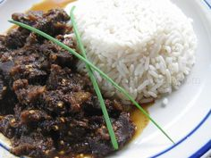Stew Eggplant with Beef | Simply Trini Cooking #trinicooking