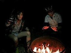 """""""getting cozy by the fire in a diaper with the wolf man."""" i wish this was a rap song instead of my life."""