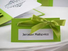 Winietki wizytówki ślubne dla gości serii Classic Wedding, Valentines Day Weddings, Weddings, Marriage, Mariage
