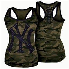 New Era New York Yankees Women's Camo Novelty Tank Top