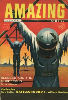 AMAZING STORIES VOL. 1 NO. 8 1954