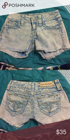Blue Rock Revival jean shorts Blue Rock Revival Jean Shorts Rock Revival Shorts Jean Shorts