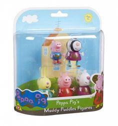 Peppa Pig 5-Figure Pack Muddy Puddles