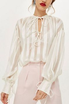 73193b6d 12 Best Sheer Blouse images | Sheer blouse, Blouses, Shirts