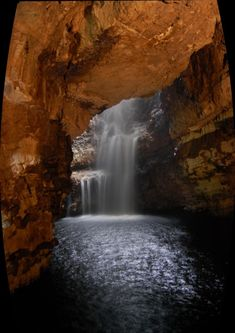 Smoo Cave Waterfall, Scotland -- [REPINNED by All Creatures Gift Shop] Breathtaking!