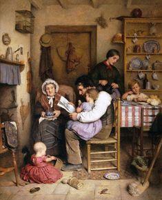 Clark, Joseph (b,1834)– Family Gathering -2b