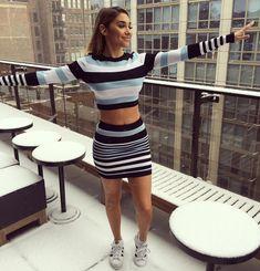 "💿Ceejay The Dj💿 on Instagram: ""Expectation 🌨"" 90s Fashion, Girl Fashion, Fashion Outfits, Chantel Jeffries, Urban Chic, Two Piece Dress, Latest Fashion For Women, Celebrity Style, Mini Skirts"