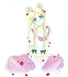 Usagi, artwork by Naoko Takeuchi for Sailor Moon