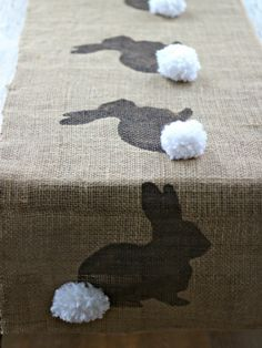 bunny tail centerpieces - Google Search