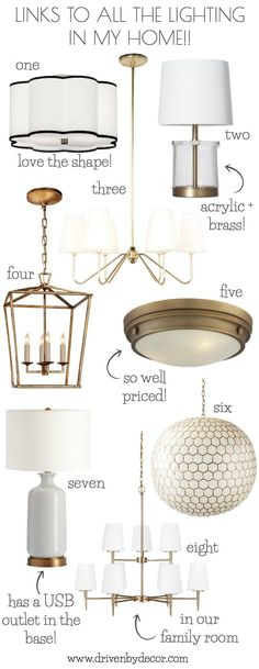 Love All The Light Fixtures In Her Home They Re Sourced