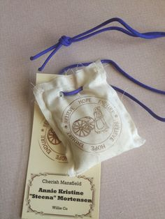 wendy will ramble.: youth pioneer trek flour sacks & pioneer name tags Pioneer Day Utah, Pioneer Trek, Pioneer Camp, Trek Ideas, Mormon Pioneers, Pioneer School, Youth Conference, Pioneer Gifts, Church Activities