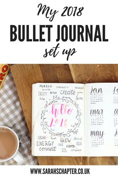 Setting up my bullet journal for 2018 | Sarah's Chapter