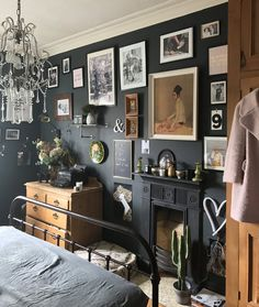 In this series of gallery wall tours, we tour Nicola's home in the UK, where she explains how she chooses her maximalist gallery walls and decor.