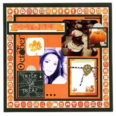A Whole Year of Layouts featuring the new Calendar Girl Collection from Bo Bunny - Scrapbook.com