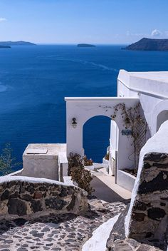 Blue & white, Oia, Santorini, Greece