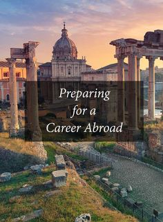 Take your career international and get out of your comfort zone. We're here to help.