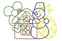 Objetos escondidos | Mírame y aprenderás Numbers Preschool, Preschool Worksheets, Gross Motor Activities, Preschool Activities, Hidden Picture Puzzles, I Can Statements, Alphabet Coloring Pages, Hidden Pictures, Learning Time