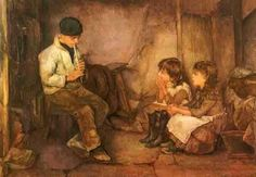 Henry Meynell Rheam  The Music Lesson