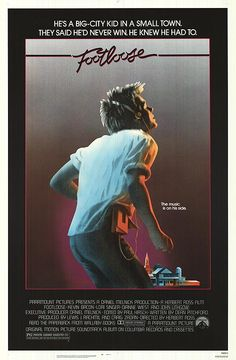 Footloose~A city boy comes to a small town where rock music and dancing have been banned.