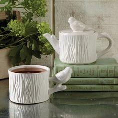 Ceramic Tea For One Set