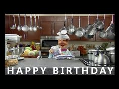 Happy Birthday from the Swedish Chef - Happy Birthday Funny - Funny Birthday meme - - Happy Birthday from the Swedish Chef The post Happy Birthday from the Swedish Chef appeared first on Gag Dad. Happy Birthday Chef, Happy Birthday Little Brother, Happy Birthday Video, Happy Birthday Wishes, Humor Birthday, Happy Birthday Song Youtube, Funny Happy Birthday Song, Best Birthday Quotes, Messages