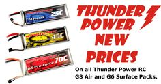 Thunder Power RC LiPo Lithium Polymer Batteries - Low Price Guarantee - Free Shipping US-48   -    RC Toys offer a wide range of RC toys, batteries, accessories and helicopters across Canada.You can avail any kind of RC component such as Thunder Power RC Lithium Polymer, Li Poly Batteries & Accessories.