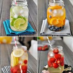40+ fruit water recipe ideas --- #HealthyHappySmart -
