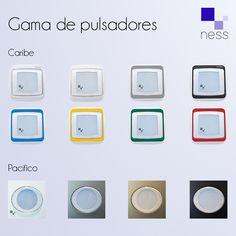 Descubre nuestra gama de pulsadores NESS   #NESS #pulsadores #colores #tecnología #ingeniería #engineering #ahorro #agua