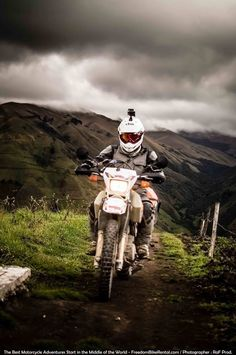 loves it when i ride dirt bikes it eases my mind when im upset or mad it calms me down. LOV 2 RIDE