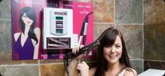 Beautiful Vending Styler, UK - Rent time with a flat or curling iron at this pay-per-use service.