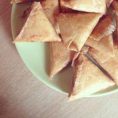 Petites bricks au poulet et fromage Kiri, la recette gourmande infaillible :)