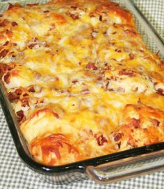 Bacon-Cheese Pull Aparts...my teens would love these!