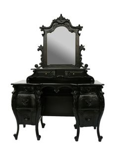 Fabulous and Baroque  Rococo French Dressing Table by wanda