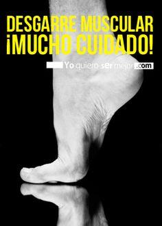 Desgarre muscular ¡Mucho cuidado! #Desgarre #Músulo #Pie #Atletas #AtletasPorSiempre #Yoquierosermejor Movies, Movie Posters, Athlete, Sports, Films, Film Poster, Cinema, Movie, Film