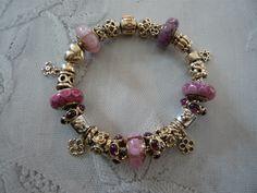 <3 Pandora <3 Pandora Bracelets, Pandora Charms, Beaded Bracelets, Pandora Gold, Pandoras Box, Pretty, Jewelry, Jewlery, Jewerly