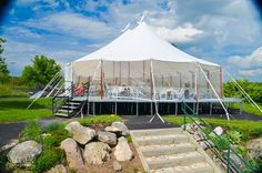 Tent Wedding Reception at the Green Bay Country Club