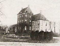 Huis ten Dijke of Dyksterhuis te Pieterburen, hier nog in volle glorie.