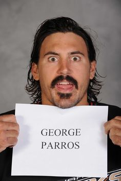 Enforcer. Fan favorite. All-around awesome guy -- George Parros!
