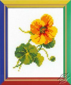 Nasturtium - Cross Stitch Kits by RIOLIS - HB-135