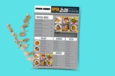 Food menu template food od menu canvas template keto food | Etsy Food Menu Template, Restaurant Menu Design, Keto Recipes, Templates, Etsy, Stencils, Vorlage, Models